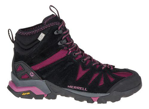 Womens Merrell Capra Mid Waterproof Hiking Shoe - Huckleberry 6.5