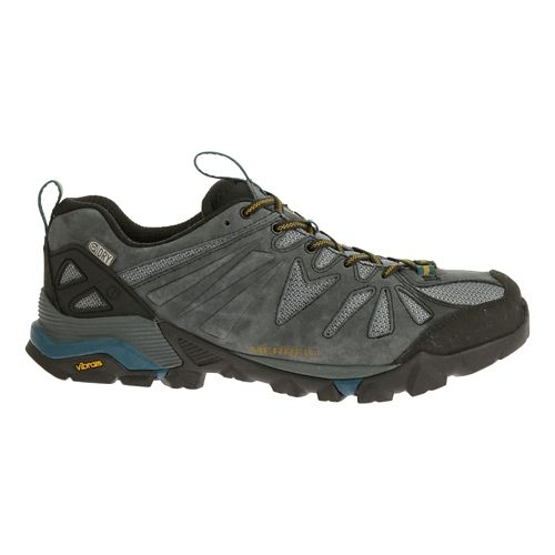 Mens Merrell Capra Waterproof Trail Running Shoe - Turbulence 11