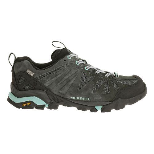 Womens Merrell Capra Waterproof Trail Running Shoe - Granite 6.5