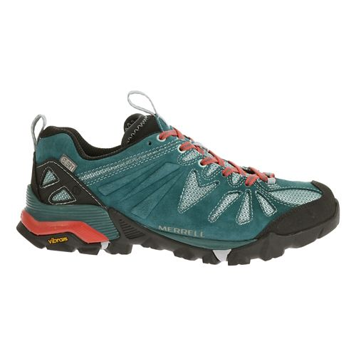 Womens Merrell Capra Waterproof Trail Running Shoe - Dragonfly 10