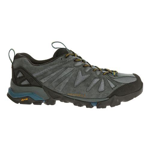 Mens Merrell Capra Trail Running Shoe - Turbulence 14