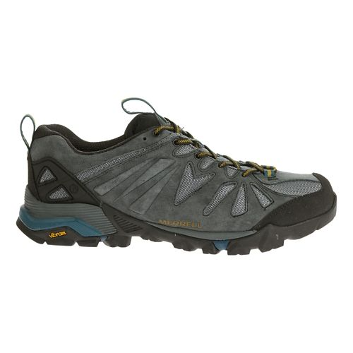 Mens Merrell Capra Trail Running Shoe - Turbulence 8