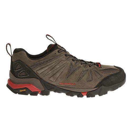 Mens Merrell Capra Trail Running Shoe - Boulder 14