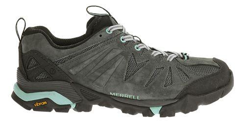 Womens Merrell Capra Trail Running Shoe - Granite 8
