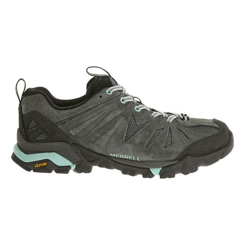 Womens Merrell Capra Trail Running Shoe - Granite 8.5