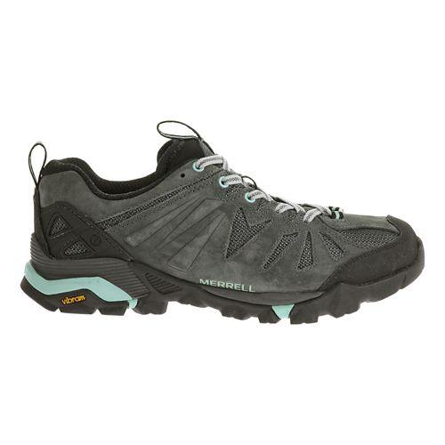 Womens Merrell Capra Trail Running Shoe - Granite 9