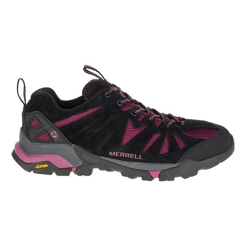 Womens Merrell Capra Trail Running Shoe - Huckleberry 8.5