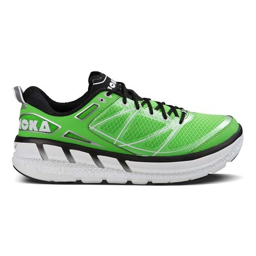 Mens Hoka One One Odyssey Running Shoe - Green/Black 9.5