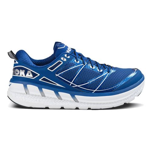 Mens Hoka One One Odyssey Running Shoe - Blue/White 12