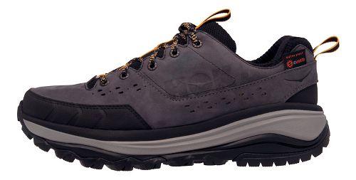 Mens Hoka One One Tor Summit WP Hiking Shoe - Grey/Golden 8