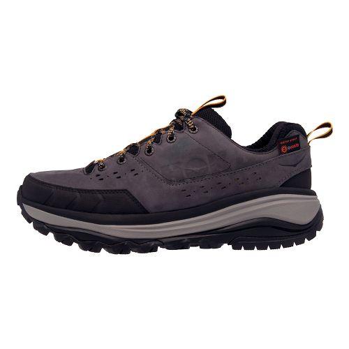 Mens Hoka One One Tor Summit WP Hiking Shoe - Grey/Golden 11.5