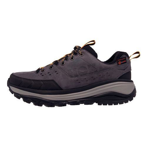 Mens Hoka One One Tor Summit WP Hiking Shoe - Grey/Golden 7.5