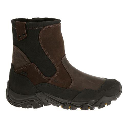 Mens Merrell Polarand Rove Zip Waterproof Hiking Shoe - Espresso 15