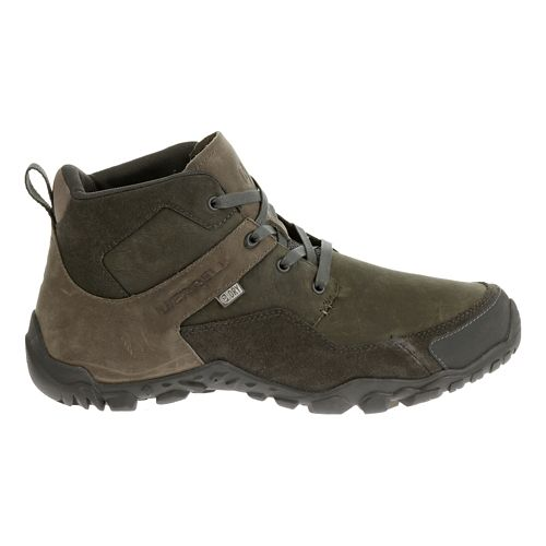 Mens Merrell Telluride Mid Waterproof Hiking Shoe - Granite 8