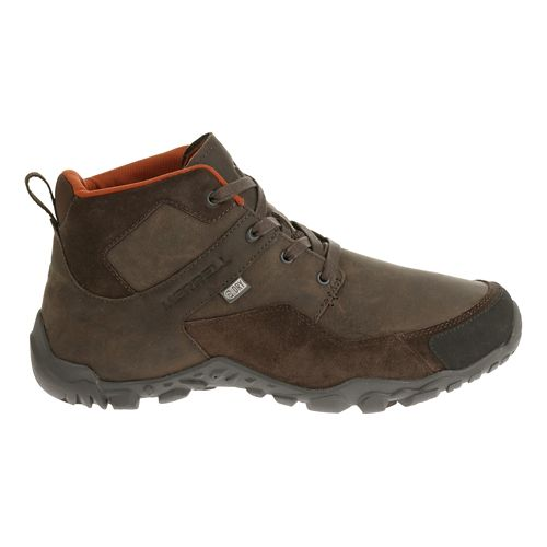 Mens Merrell Telluride Mid Waterproof Hiking Shoe - Espresso 9