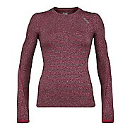 Womens Zoot Liquid Core Long Sleeve Technical Tops
