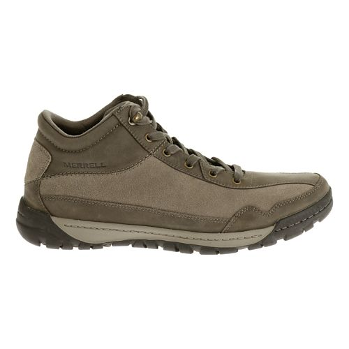 Mens Merrell Traveler Field Mid Trail Running Shoe - Boulder 7