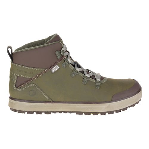 Mens Merrell Turku Trek Waterproof Casual Shoe - Dusty Olive 13
