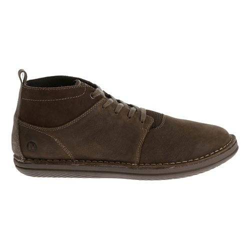 Mens Merrell Bask Sol Mid Casual Shoe - Cafe 11.5