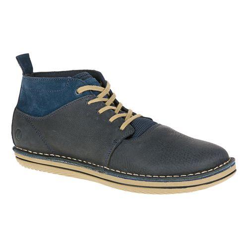 Mens Merrell Bask Sol Mid Casual Shoe - Navy 7