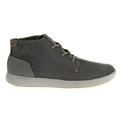 Mens Merrell Freewheel Chukka Casual Shoe - Charcoal 10.5