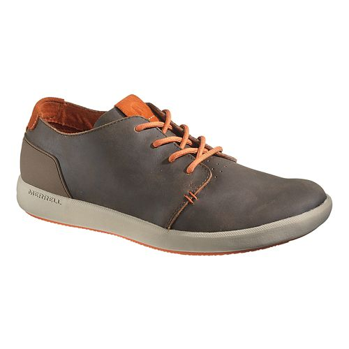 Mens Merrell Freewheel Lace Casual Shoe - Dark Earth 8