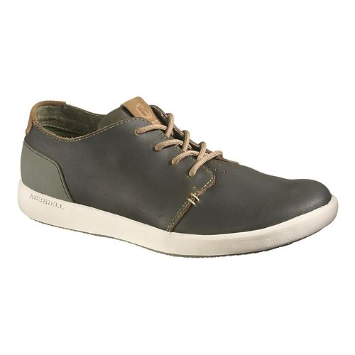 Mens Merrell Freewheel Lace Casual Shoe - Dark Olive 8