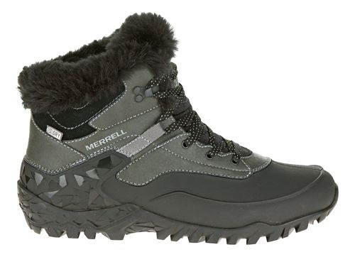 Womens Merrell Fluorecein Thermo 6 Waterproof Hiking Shoe - Black 6