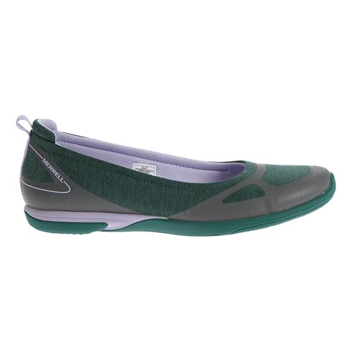Womens Merrell Ceylon Ballet Casual Shoe - Teal/Lilac 7