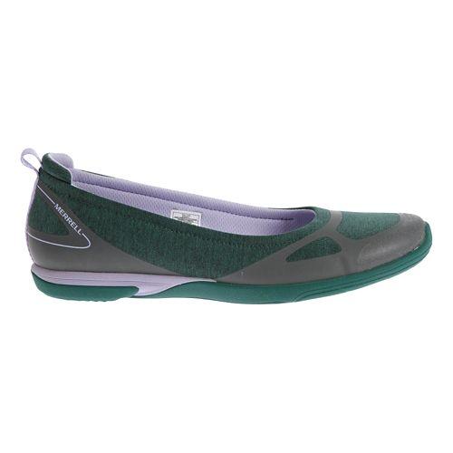Womens Merrell Ceylon Ballet Casual Shoe - Teal/Lilac 9