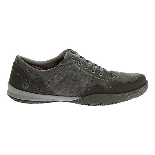 Womens Merrell Albany Lace Casual Shoe - Granite 8