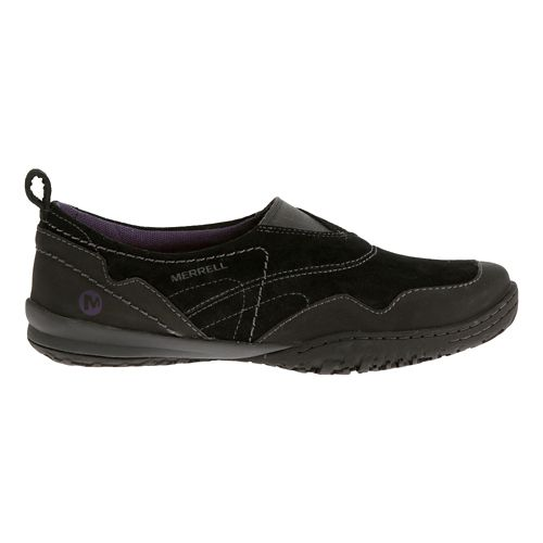 Womens Merrell Albany Moc Casual Shoe - Black 7