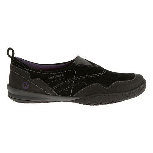 Womens Merrell Albany Moc Casual Shoe - Black 7.5