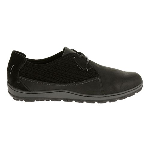 Womens Merrell Ashland Tie Casual Shoe - Black 5