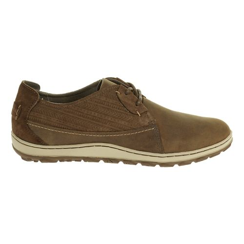 Womens Merrell Ashland Tie Casual Shoe - Brown Sugar 7