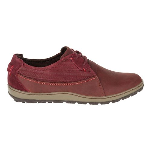 Womens Merrell Ashland Tie Casual Shoe - Red Ochre 5