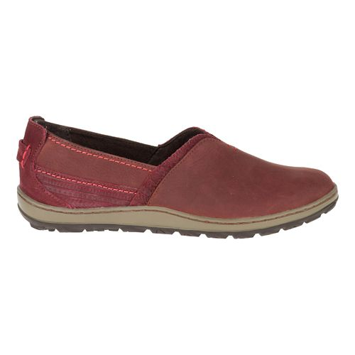 Womens Merrell Ashland Casual Shoe - Red Ochre 5