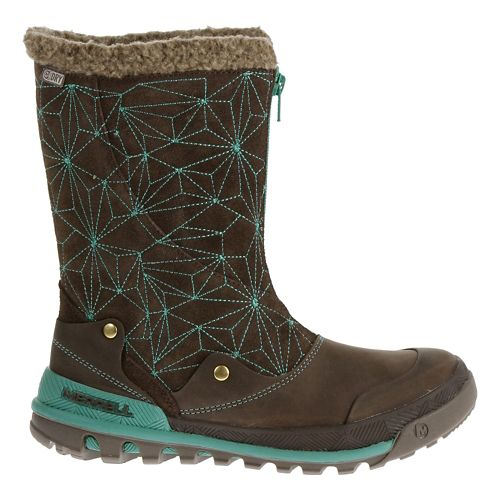 Womens Merrell Silversun Zip Waterproof Casual Shoe - Bracken 6.5