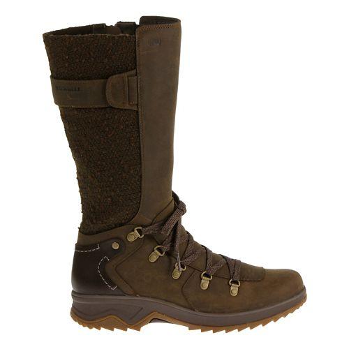 Womens Merrell Eventyr Peak Waterproof Casual Shoe - Dark Earth 8