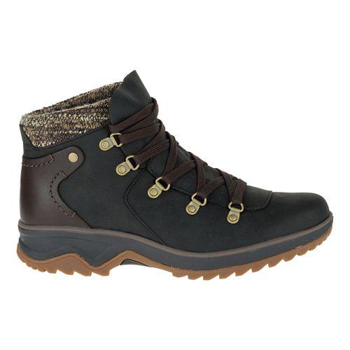 Womens Merrell Eventyr Bluff Waterproof Casual Shoe - Black 6