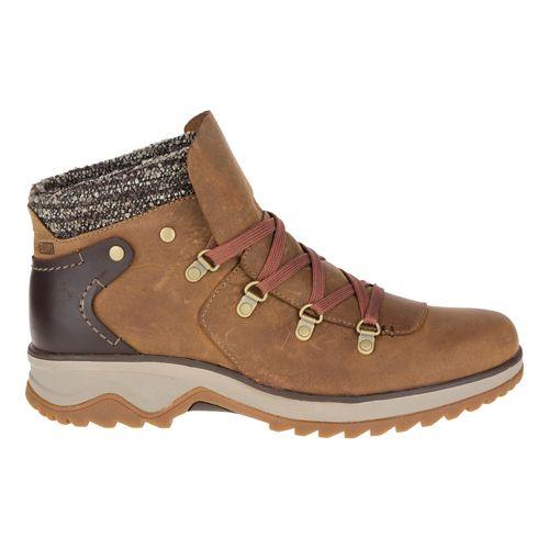 Womens Merrell Eventyr Bluff Waterproof Casual Shoe - Merrell Tan 9.5