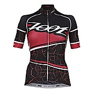 Womens Zoot Cycle Ali'i Jersey Short Sleeve Technical Tops