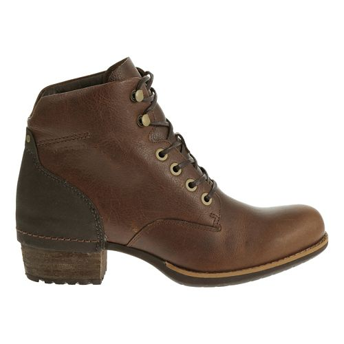 Womens Merrell Shiloh Lace Casual Shoe - Oak 9