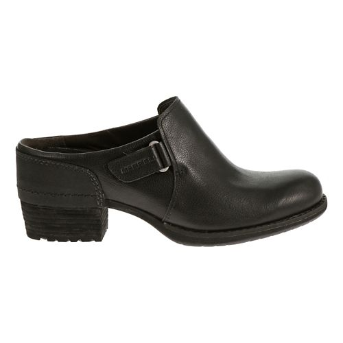 Womens Merrell Shiloh Clog Casual Shoe - Black 7