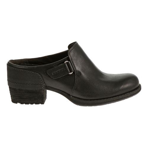 Womens Merrell Shiloh Clog Casual Shoe - Black 8