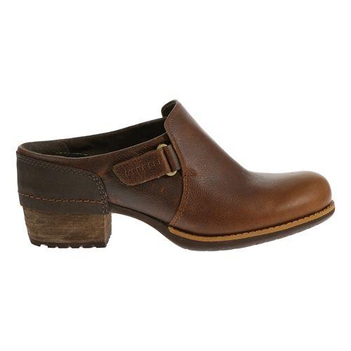 Womens Merrell Shiloh Clog Casual Shoe - Oak 6