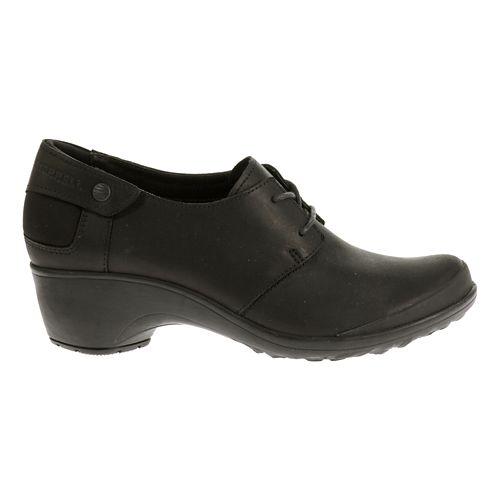 Womens Merrell Veranda Tie Casual Shoe - Black 8