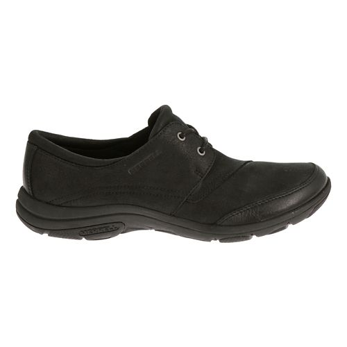 Womens Merrell Dassie Tie Casual Shoe - Black 6.5