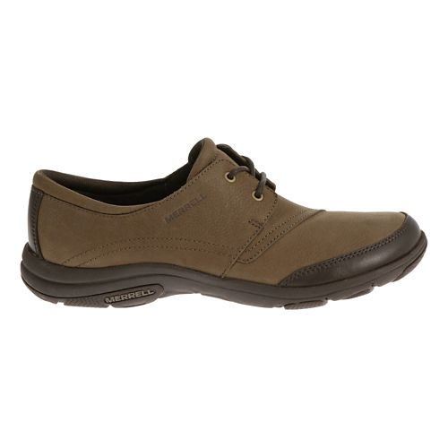 Womens Merrell Dassie Tie Casual Shoe - Char Brown 5.5
