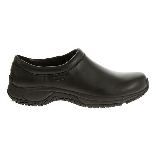 Mens Merrell Encore Moc Pro Grip Casual Shoe - Black 11.5